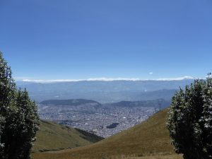 Quito, Ecuador, volcanoes